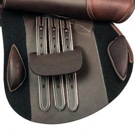 Selle mixte en cuir Auxonne Treadstone