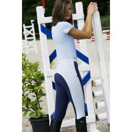 Pantalon d'équitation bicolore Funline Equithème pour femme