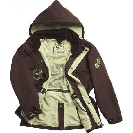 Manteau bicolore 3-en-1 Master Pro Equi-thème pour enfant
