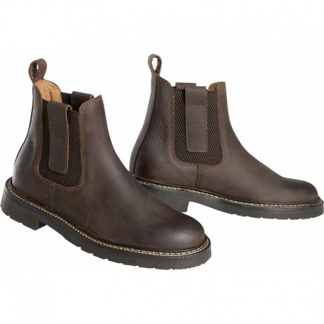 Boots d'équitation en cuir Nubuck C.S.O.