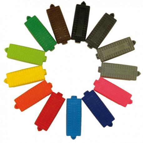 Semelles colorées pour étriers Premium Compositi