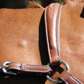Collier de chasse en cuir Roma Brio Treadstone