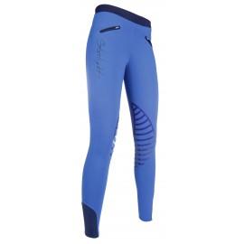 Leggings Starlight avec basanes en silicone bleu roi/bleu marine