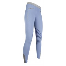 Leggings Starlight avec basanes en silicone bleu gris/gris