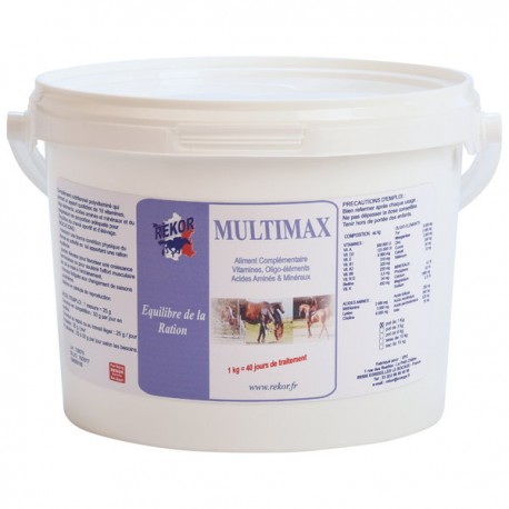 Multi Max Rekor complément multivitaminé 1kg