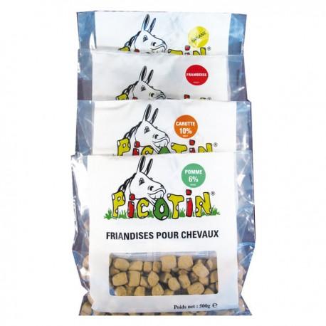 Friandises en bonbons pour chevaux Picotin