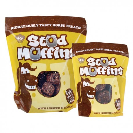 Aliment complémentaire pour chevaux Stud Muffins