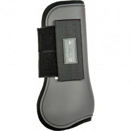 Guêtres ouvertes softopren Premium gris foncé/noir
