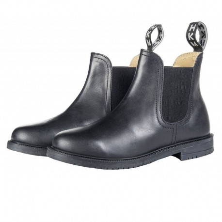 Boots cuir inserts élastiques Zurich