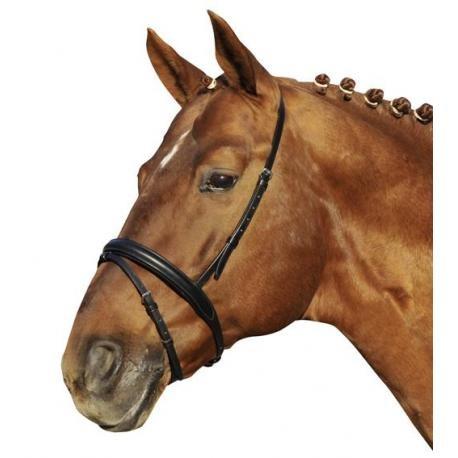 Muserolle poney en cuir London