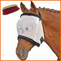Comment protéger le cheval des insectes?