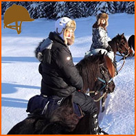 Cavaliers, équipés pour l'hiver