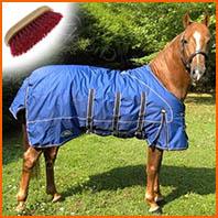 Entretenir les couvertures de son cheval